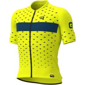 Alé Cycling PRR Stars Kurzarm Trikot Herren gelb/petrol